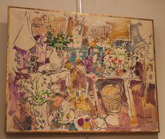 Obra original de Julián Grau Santos. En la Galería de Arte y Antigüedades Beatriz Bálgoma www.beatrizbalgoma.es