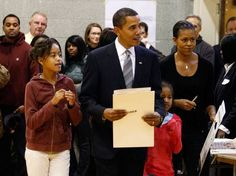 112 Michelle Obama votes early for her husband  October 15, 2012