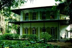 Ernest Hemingway House. Key West, Florida. (1997)