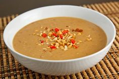 Thai Spicy Peanut Sauce. Addicting!!!  Great for spring rolls or a quick pad thai!