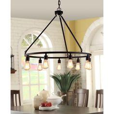 Shea 9-light Chandelier   Overstock.com Shopping - The Best Deals on Chandeliers & Pendants