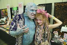 Performers Enigma and Serena Rose at the Baltimore Tattoo Arts Convention 2014