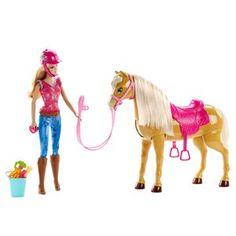 Barbie etson cheval Tawn de Mattel