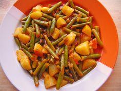 Grüne Bohnen mit Kartoffeln, ein raffiniertes Rezept aus der Kategorie Kochen. Bewertungen: 34. Durchschnitt: Ø 4,4.