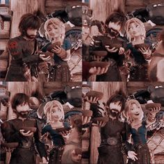 They are so darn cute Cute Toothless, Hiccup And Toothless, Dragon Armor, Dragon Rider, Httyd, Moomin Cartoon, Hicks Und Astrid, Hiccup And Astrid, Dreamworks Dragons