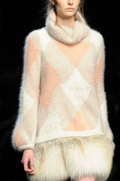 judith-orshalimian: Ermanno Scervino Fall/Winter... - Purl on Pearl.