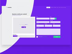 I am back with another animation for my UI Learning page concept.  Now with some after effects magic and dribbble like upload page.  I've improved overall design to give it more fresh and clean loo...