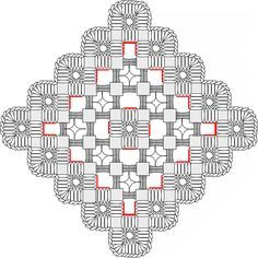 hardanger embroidery free patterns | Hardanger Patterns Más