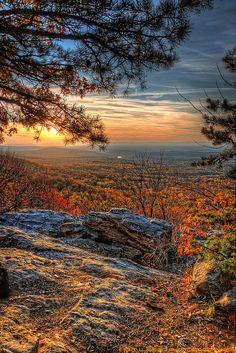 Sunset, Shenandoah National Park, Virginia