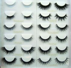 All of Velour's Lashes. wonderful and beautiful... Heres a chart of them all to compare