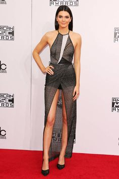 Kendall Jenner. All of our favorite red carpet looks from last night's American Music Awards: