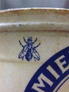 Vintage french honey pot MIEL