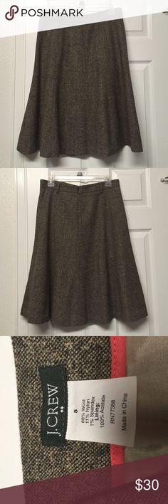 Selling this Excellent J. Crew Skirt on Poshmark! My username is: kenyas_klassics. #shopmycloset #poshmark #fashion #shopping #style #forsale #J. Crew #Dresses & Skirts
