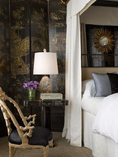 Pacific Heights Georgian Mansion - eclectic - Bedroom - San Francisco - Cecilie Starin Design Inc.