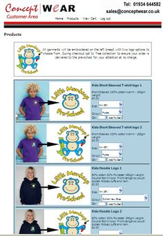 We can host your shopping page free of charge to allow parents and members to buy their uniform direct.