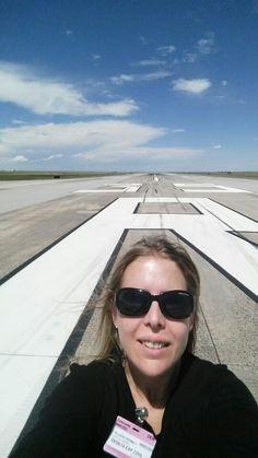 Runway selfie