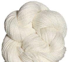 Blue Sky Alpacas Alpaca Silk Yarn - 120 White-