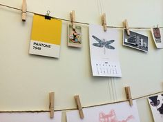 Beautiful inspiration at Edit & björnen in Norrköping! #nordicdesigncollective #editochbjornen #dragonfly #peculiarnature #pantone #bauhaus #inspiration #moodboard #print #poster #calender #paper #swedishdesign #norrkoping #clothespin #pin #yellow #nordicdesign