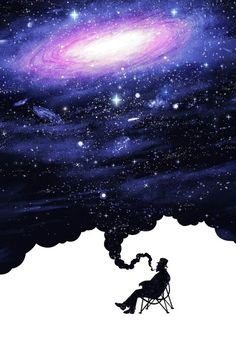 Imagem de galaxy, wallpaper, and background