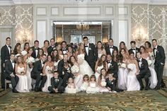 Large Wedding Party Photography Kingensmith Read More