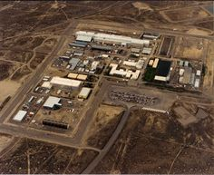 Naval Reactors Facility at Idaho National Engineering Laboratory, Idaho Falls, ID.  The S5G complex is the one at the bottom left corner.
