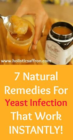 Home Remedies for Vaginal Yeast Infection that work Instantly!