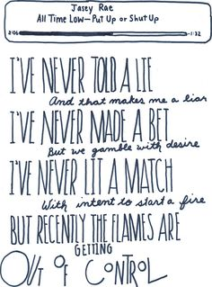Jasey Rae -All Time Low