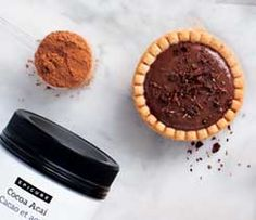 Cocoa Crunch Pudding Tarts No Bake Desserts, Dessert Recipes, Mini Tart Shells, Epicure Recipes, Milk Tart, Popcorn Seasoning, Instant Pudding Mix, Gluten Free Menu, Specialty Foods