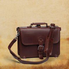 Briefcase Thin - Saddlebackleather - Chestnut