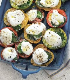 Grill-Roasted Tomatoes Topped with Cheese and Herbs | Best End-of-Summer Recipes