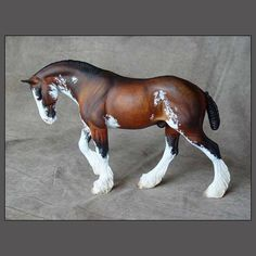 HORSE ART by Paloose Arts, Sheila Anderson, Colo, US. www.paloosearts.com. Sheila does model horse resin sculptures & can create a 3-D model portrait painting of your horse!