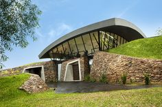 Partially Submerged Modern Homes In Paraguay Are Both Efficient And Stunning!