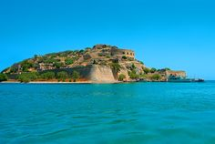 View from Blue Palace Resort and Spa of Spinalonga Island - Crete - Greece