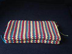 Baby blanket. 50% cotton 50% acrylic.