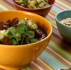 Crock Pot Black Bean Chili