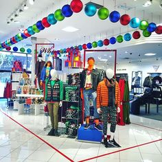 "MACY'S, South Coast Plaza, California, ""The Men's Store is looking very fun and Whimsical!"", pinned by Ton van der Veer"