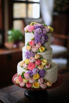 masam manis: 3 tier weading cake