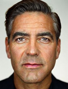George Clooney by Martin Schoeller - Carefully selected by GORGONIA www.gorgonia.it