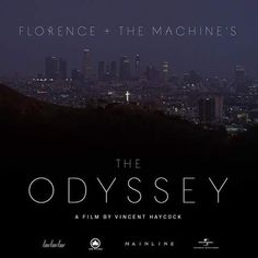 """Florence + the Machine promotional posters of """"The Odyssey"""""""