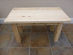 Small Coffee Table 100% Reclaimed Pallet Wood by GetOnYourUpCycle