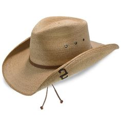 90f9f54f83d Contoy - Stetson Palm Straw Western Hat. Fashionable Hats
