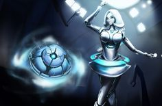 LOL : i Orianna by Tozaro on deviantART