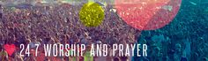 We are teaming up with an organization called Lite the Fire to kick off continuous, non-stop, 24-7 worship and prayer around the state of Colorado, starting the day of Heaven Fest!