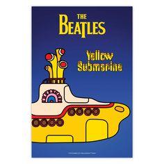 Poster The Beatles - Yellow Submarine