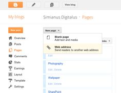Add Label-Based Pages to Blogger Blogs Blogger Blogs, Web Address, Social Media Tips, Ads, Templates, Thoughts, Learning, Monkey, Blogging