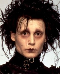 """OMG, JOHNNY DEPP YOU ARE MY SPIRIT ANIMAL OMG I'M SO MISUNDERSTOOD JUST LIKE EDWARD SCISSORHANDS."" -My Seventh Grade emo self"