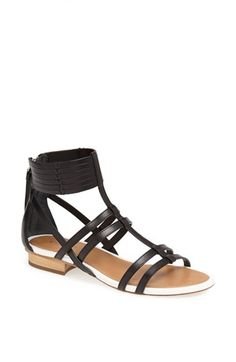 COACH 'Nillie' Gladiator Sandal available at #Nordstrom