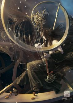 The M Picture  (2d, fantasy, illustration, surrealism)