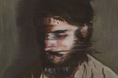 Stuck In Motion With Slurred Glitch Paintings