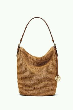New Ideas Crochet Basket Bag Michael Kors Crochet Handbags, Crochet Purses, Crochet Bags, My Bags, Purses And Bags, Jute Bags, Craft Bags, Basket Bag, Crochet Shoes